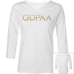 GDPAA Long Sleeve T-shirt Charcoal