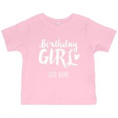 Custom Kids Birthday Design