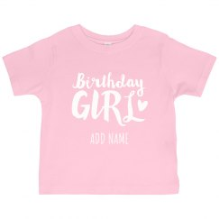 Custom Kids Birthday Design