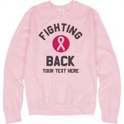 Custom Sweats for Fighting Breast Cancer
