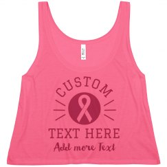 Custom Breast Cancer Suppport Designs