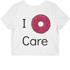 i donut care croptop