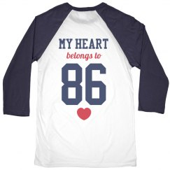 Sports Girlfriend Raglan