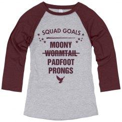Squad Goals Marauders Ex-Wormtail