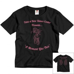 Youth Recital Shirt Black