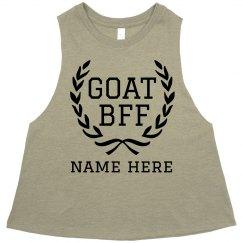 GOAT BFF Custom Name