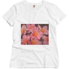 frangipani pink flower