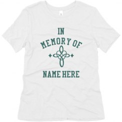 Loving Memory Custom Name Top