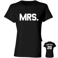 Custom Mr and Mrs Design
