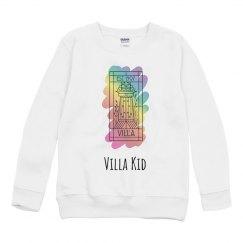 Villa Kid Rainbow Paint Sweatshirt