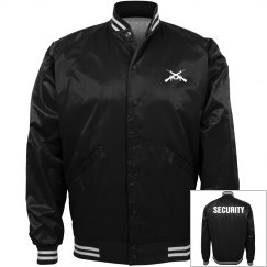 Security bomber jacket