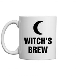 Witch's Brew Spooky Mug