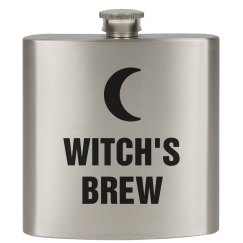 Witch's Brew Spooky Flask