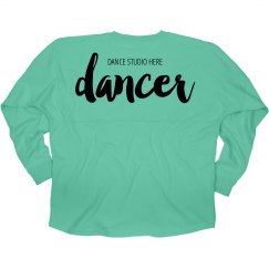 Custom Dance Studio Jersey