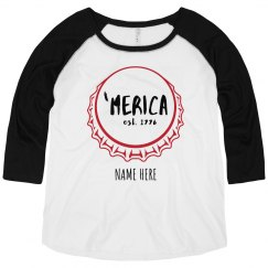Merica Bottle Cap