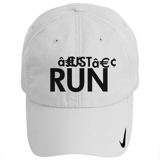e16e4697c3918 Just Run Runners Cap Nike Golf Sphere Dry Hat