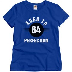 64 aged to perfection