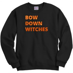 Metallic Bow Down Witches