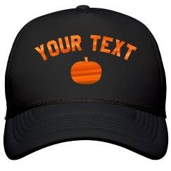 Custom Metallic Halloween Hat