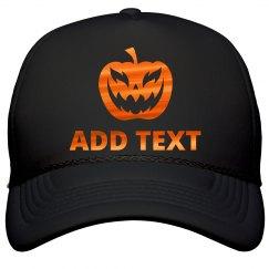 Custom Metallic Halloween Text