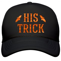 His Trick Halloween Couple Hats