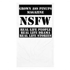 Grown Ass Pinups Magazine Face Cover