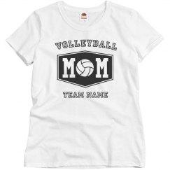 Custom Volleyball Mom Shirts