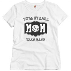 Custom Volleyball Mom Shirts