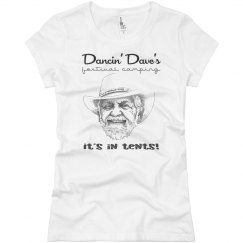 Dave's Face - Ladies T