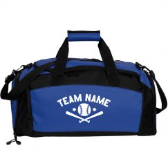 Custom Team Baseball Duffel