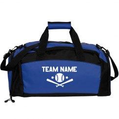 Custom Team Baseball Duffel