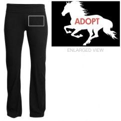Adopt A Mustang Yoga Pant