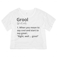 The Definition Of Grool