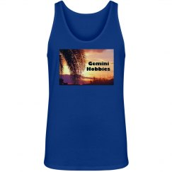 Gemini Hobbies Unisex Blue Tank Top