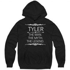 Tyler, the man the myth the legend.