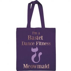 I'm a Bastet Dance Fitness Meowmaid Tote