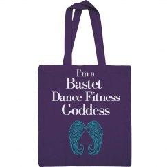 I'm a Bastet Dance Fitness Goddess Tote