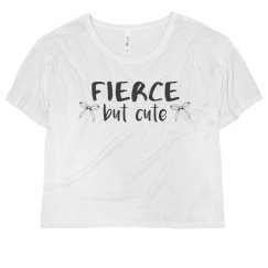 Fierce But Cute Crop Top