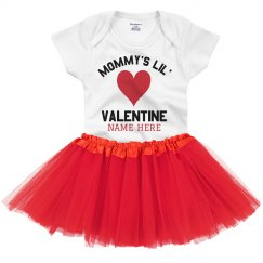 Mommy's Lil' Adorable Valentine