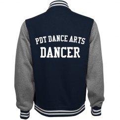 PDT Dancer Varsity Jacket Purple