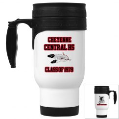 Cheyenne Central Reunion 14 ounce Travel Mug