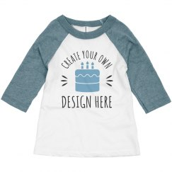 Custom Toddler Kid Birthday Shirts
