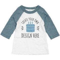 Custom Toddler Kid Birthday Shirts