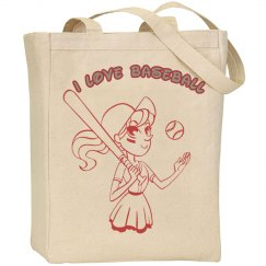 Baseball Canvas Bag