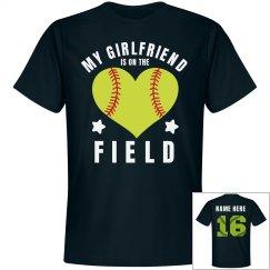 Custom Softball Boyfriend Shirt