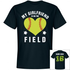 Custom Softball Boyfriend Shirt