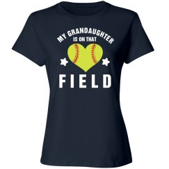 Grandma Softball Fan