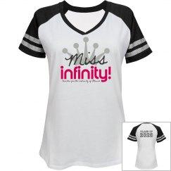 MISS INFINITY Logo Tee (V2)
