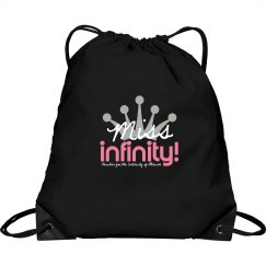 MISS INFINITY Logo Handbag