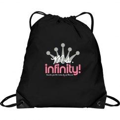MS. INFINITY Logo Handbag